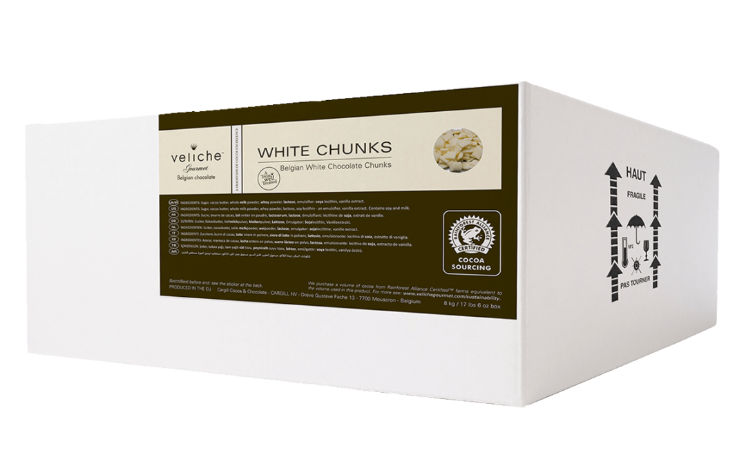 Belgian White Chocolate Chunks