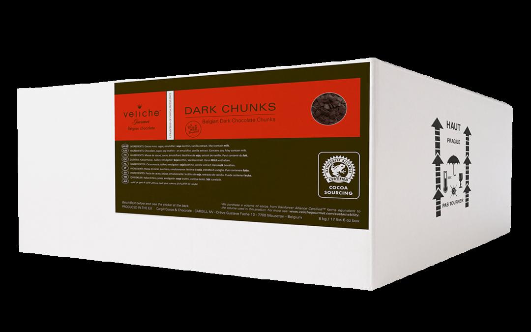 Belgian Dark Chocolate Chunks