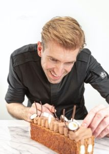 Peter, the winner of the Dutch Pastry award in 2013